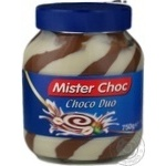 Cream-paste Mister choc chocolate 750g