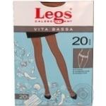 Колготы Legs Vita Bassa 20 Den женские р.4 Amber