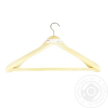 Вішалка д/тяж. одягу з рез.стрічкою на перекл. , 500 мм - купити, ціни на МегаМаркет - фото 1