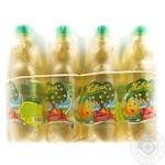Zhyvchyk strongly carbonated with juice apple beverage 500ml