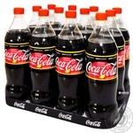 Напій газований Coca-Cola Zero Lemon 1л