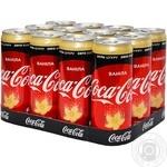 Напиток Coca-Cola Zero Ванила сильногазированный 0,33л