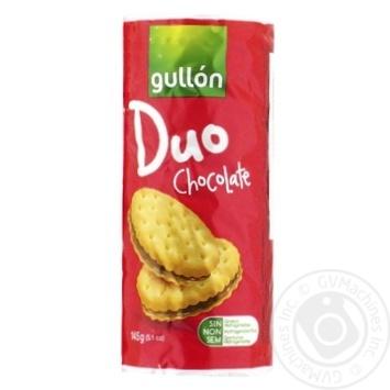 Печенье Gullon Duo сэндвич с шоколадом 170г
