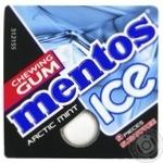 Жевательная резинка Mentos Ice Арктическая мята 12,9г - купить, цены на МегаМаркет - фото 1