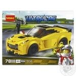 Decool Race Toy Constructor
