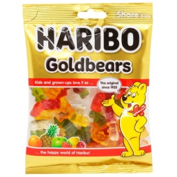 Haribo Golden Bears Jelly Candies 150g - buy, prices for CityMarket - photo 2