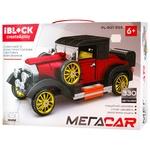 Iblock Construction Toy Car 330 details