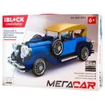 Iblock Construction Toy Car 348 details