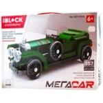 Iblock Construction Toy Car 357 details