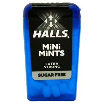 Halls Mini Mints Mint Flavored Sweets 12,5g - buy, prices for CityMarket - photo 1