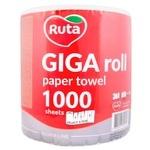 Рушники Ruta Giga Roll паперові 1000 аркушів