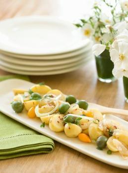 Картопляний салат по-грецьки
