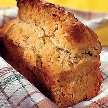 Хлеб из кукурузной муки с чили