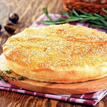 Греческий пирог с рисом и картофелем (Пататопита)