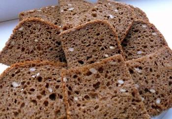 Хліб із гарбузовим насінням (рецепт для хлібопічки)