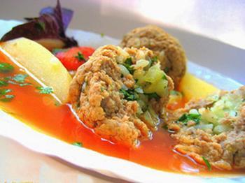 Кололик - армянский суп из баранины