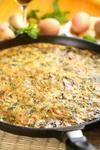 Фритатта с картофелем и мятой
