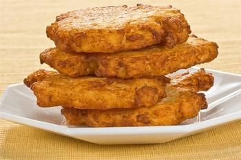 Картопляні коржі з фетою