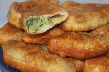 Пирожки с картошкой (жареные)