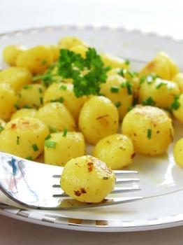 Картофельный салат с лимонной заправкой