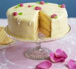 Торт лимонний
