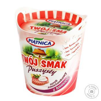 Сир Piatnica Twoj Smak вершковий з лососем 64% 150г - купити, ціни на CітіМаркет - фото 1