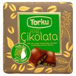 Шоколад Torku молочний з фісташками 70г
