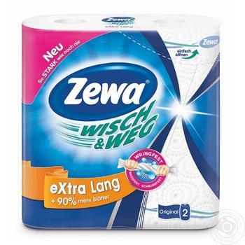 Zewa Wisch&Weg Kitchen Paper Towels 2rolls - buy, prices for Novus - image 1