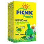 Picnic Family Liquid Mosquito Repellent 30ml 45 Nights