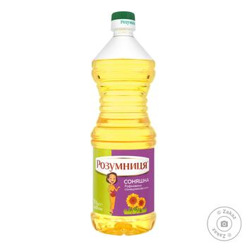 Rozumnytsya sunflower refined oil 820ml - buy, prices for MegaMarket - image 1