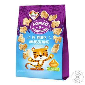 Lozhka v Ladoshke Instant Cookies In the World of Animals 150g - buy, prices for Furshet - image 2