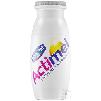Продукт кисломолочный Danone Актимель сладкий без наполнителя 1,6% 100г - купить, цены на Novus - фото 1