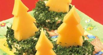 Сырные ёлочки