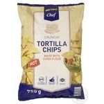 Metro Chef tortilla hot chips 750 g