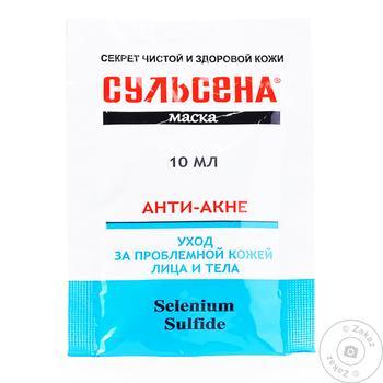 Sulsena Anti-Acne Face Mask 10ml - buy, prices for Tavria V - image 1