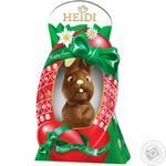 Фигурка шоколадная Heidi Зайчик пасхальный смеющийся из молочного шоколада 200г
