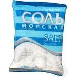 Соль Мозырьсоль Полесье пищевая морская плюс 1кг