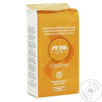 Кофе Pera Gran Gusto зерновой 1кг - купить, цены на Ашан - фото 1