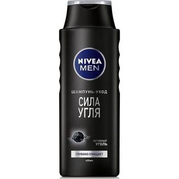 Шампунь-уход Nivea Men Сила угля 400мл