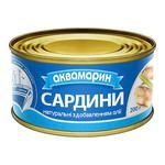 Akvamaryn With Oil Sardines 230g