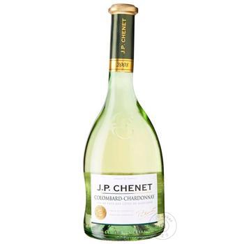 Вино J.P.Chenet Colombard-Chardonnay біле сухе 0,75л - купити, ціни на Метро - фото 1