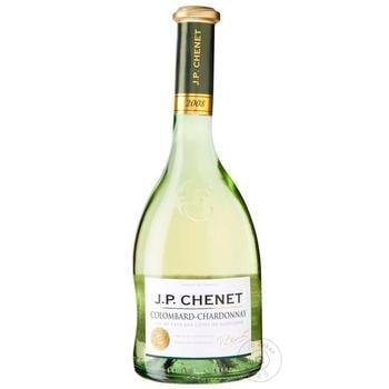 Вино J.P.Chenet Colombard-Chardonnay біле сухе 11% 0,75л