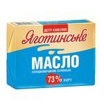 Масло солодковершкове селянське 73% Яготинське 200г