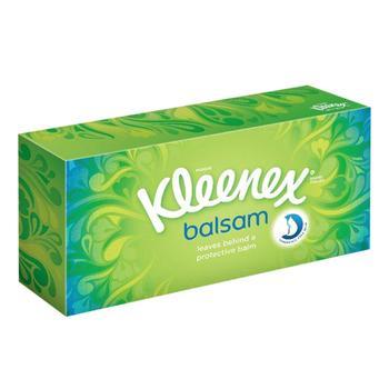 Салфетки Kleenex Balsam в коробке - купить, цены на Ашан - фото 2