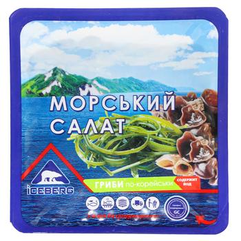 Морской салат Iceberg грибы по-корейски 150г