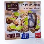 USH in sauce with white mushrooms frozen Snail