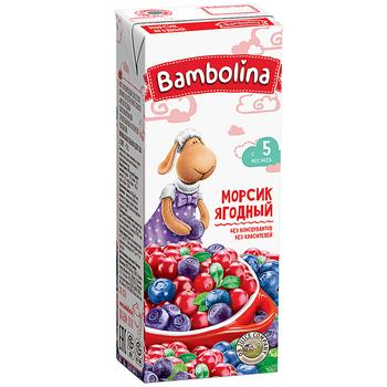 Сік Bambolina Морсик ягідний 200мл - купити, ціни на CітіМаркет - фото 1