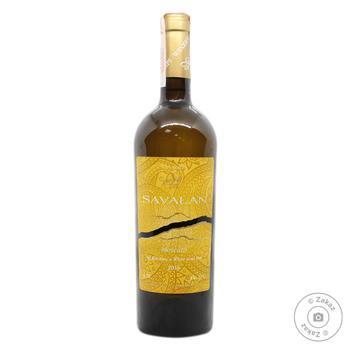 Вино Savalan Muscat белое полусухое 13% 0.75л