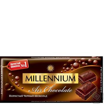 Millennium Premium Dark Airy Chocolate - buy, prices for Furshet - image 1
