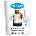 Top Cat Premium Silica Gel Cat Litter 5l
